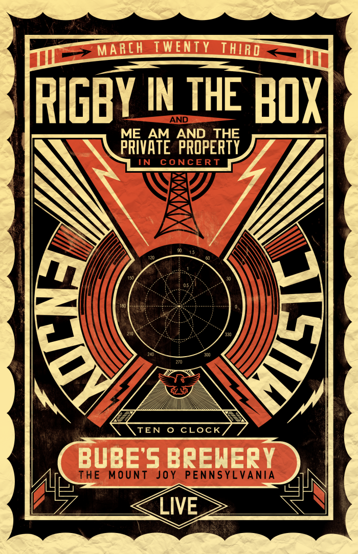 Rigby in the Box @ Bube's Brewery by Corey Salzano