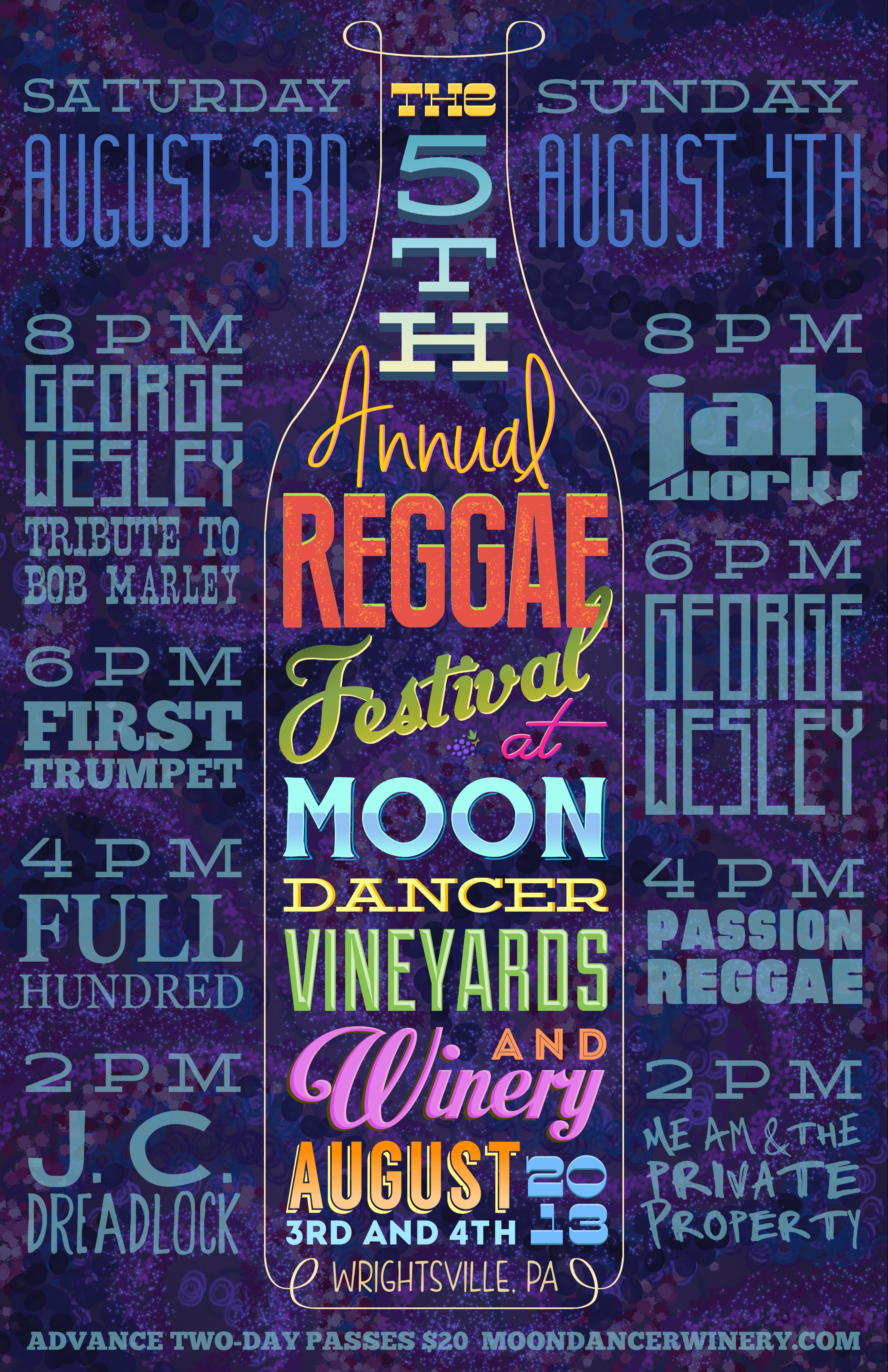 Reggae Festival @ Moon Dancer Winery by Corey Salzano
