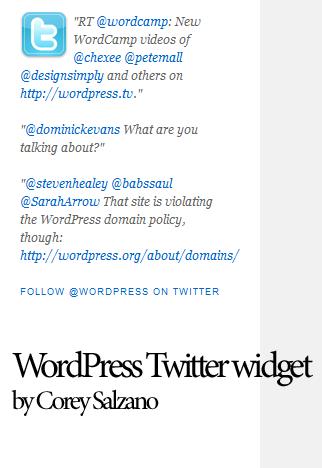 wordpress-twitter-widget